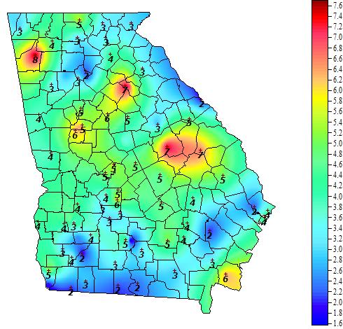 Georgia Weather - Automated Environmental Monitoring ...